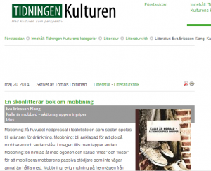 Tidningen Kuturen maj 2014